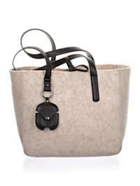 Tasche aus Filzmaterial 2-teilig