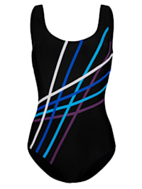 Swimsuit in a sporty design