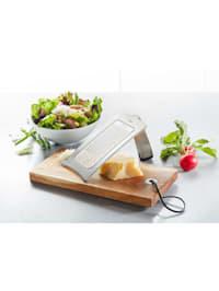 Set Gourmet-Reibe mit Holzbrettchen