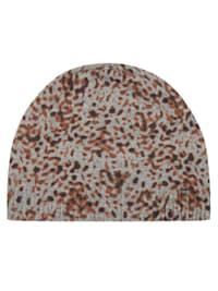 Premium Leo-Mütze mit Wolle und Kaschmir