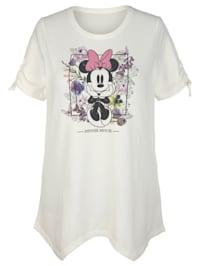 Shirt mit Minniedruck