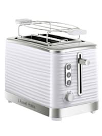 RUSSELL HOBBS Inspire Black Toaster