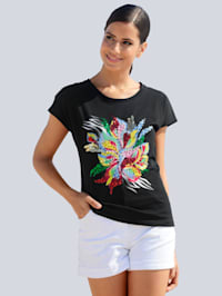 T-shirt de plage à motif mode
