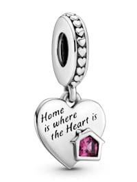 Charm-Anhänger -Herz- Liebe mein Zuhause- 799324C01