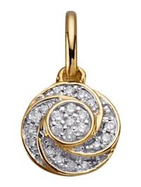Hänge med diamanter