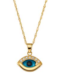 """Halsband med """"magiska ögat"""""""
