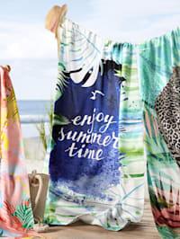 Plážová osuška 'Enjoy Summer'