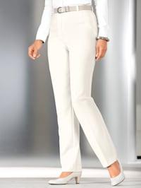 Bukse med splitt i benkanten