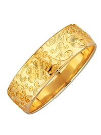 Trouwring in goudkleur
