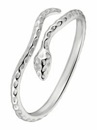 Ring für Damen, Sterling Silber 925, Schlange