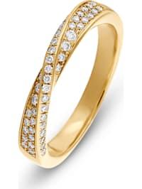 CHRIST Damen-Damenring 52 Diamant