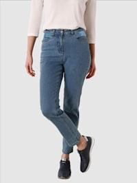 Jeans med smale ben