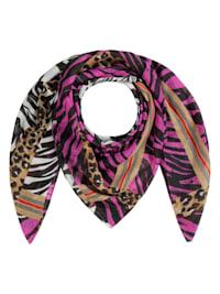 Tiger-Tuch aus recyceltem Polyester