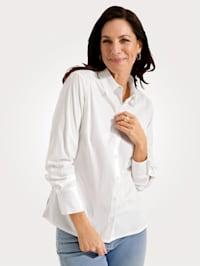 Bluse mit Baumwolle