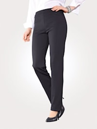 Jersey trousers in pull-on style