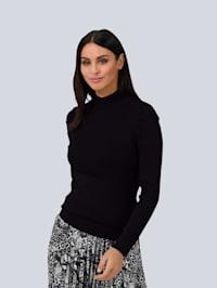 Pullover mit Falten-Detail an der Schulter