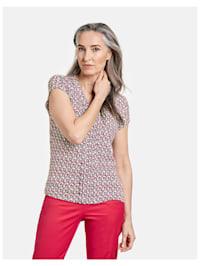 Shirt mit Minimaldessin EcoVero