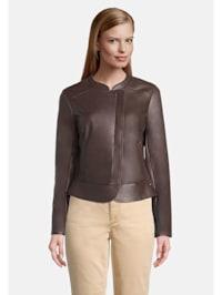 Blazer-Jacke mit Reißverschluss Material