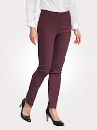 Pantalon de coupe ajustée