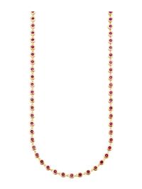 Collier avec rubis