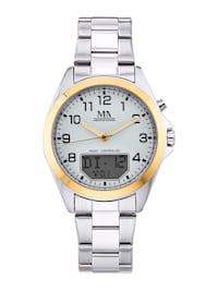 Herenhorloge met digitale weergave