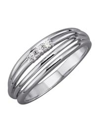 Bague avec diamants