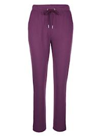 Pantalon de loisirs en coton confortable
