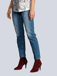 Jeans 'Dream High' in modischer Waschung
