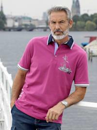Poloshirt der Maritim-Style