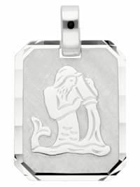Damen & Herren Silberschmuck 925 Silber Sternzeichen Anhänger Wassermann