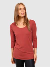 Shirt in leuke effen kleuren