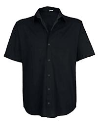 Jerseyskjorte med korte ermer