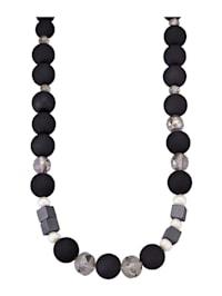 Collier avec perles de culture d'eau douce
