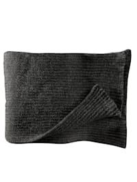 Sjaal met geribde stuctuur