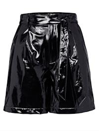 Shorts in Lackoptik