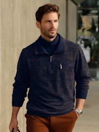 Sweatshirt mit Jacquard-Muster
