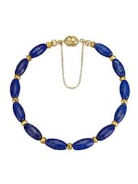 Bracelet avec lapis-lazuli et pyrite