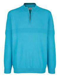 Pullover mit elastischen Rippbündchen