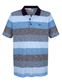 Poloshirt in modieuze look