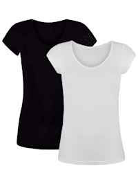 Shirts met hoogwaardig katoen