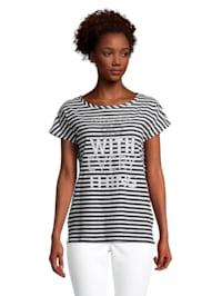 Casual-Shirt mit Streifen
