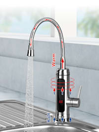 Elektrische waterkraan