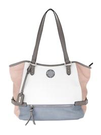 Handbag in chic colours