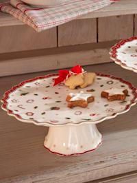 Kuchenplatte auf Fuß 'Toys Delight', 21 x  8 cm