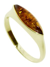 Ring - Fenna - Gold 333/000 - Bernstein