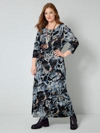 Jersey-Kleid in weich fließender Qualität