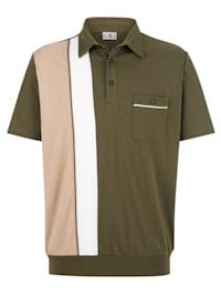 Bluzónové tričko s praktickým náprsným vreckom