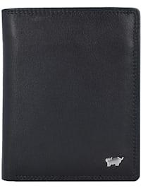 Golf Geldbörse RFID Leder 10 cm