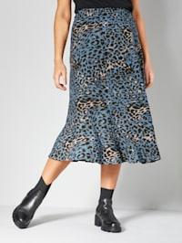 Kjol med resår i midjan