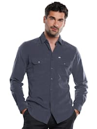 Langarm-Hemd aus Cord